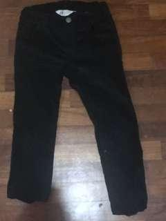 H&m  girls black pants