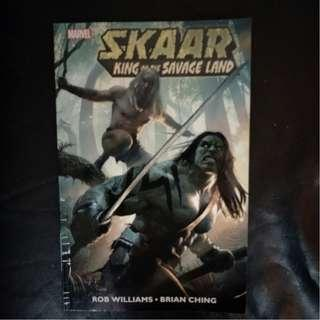 Marvel Comic Skaar - King of the Savage Land 2011 TPB by Rob Williams & Brian Ching !