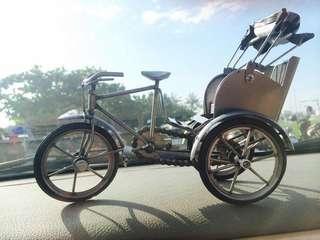 🚚 鐵藝三輪車 復古風 裝飾品