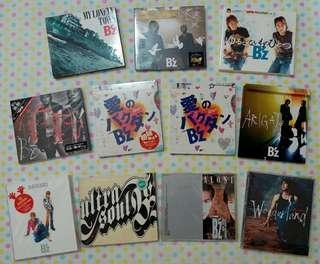 B'z 珍藏大碟及單曲CD