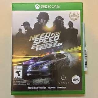 Kaset xbox one orginal need for speed