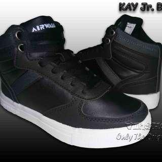 Sepatu Anak AIRWALK KAY Jr, Black. AIW18CX0611B. 100% Original BNIB