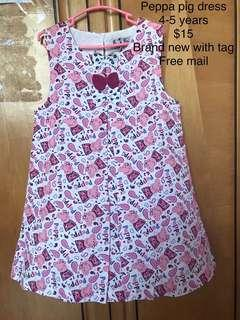 🚚 Brand new peppa pig dress