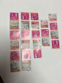 萬寧印花 mannings stamps 24個