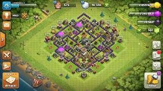 Clash Of Clans Townhall 8 Account