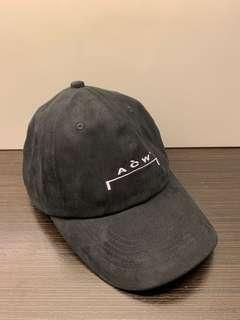 A Cold Wall ACW Black Suede Cap