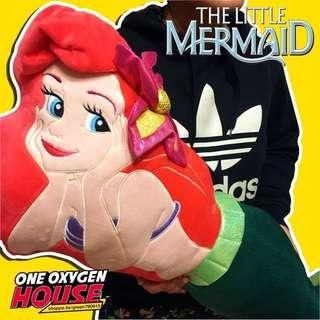 🚚 小美人魚愛麗爾抱枕娃娃 公仔