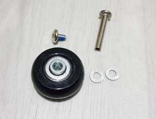 40mm * 18mm Luggage Replacement Wheels
