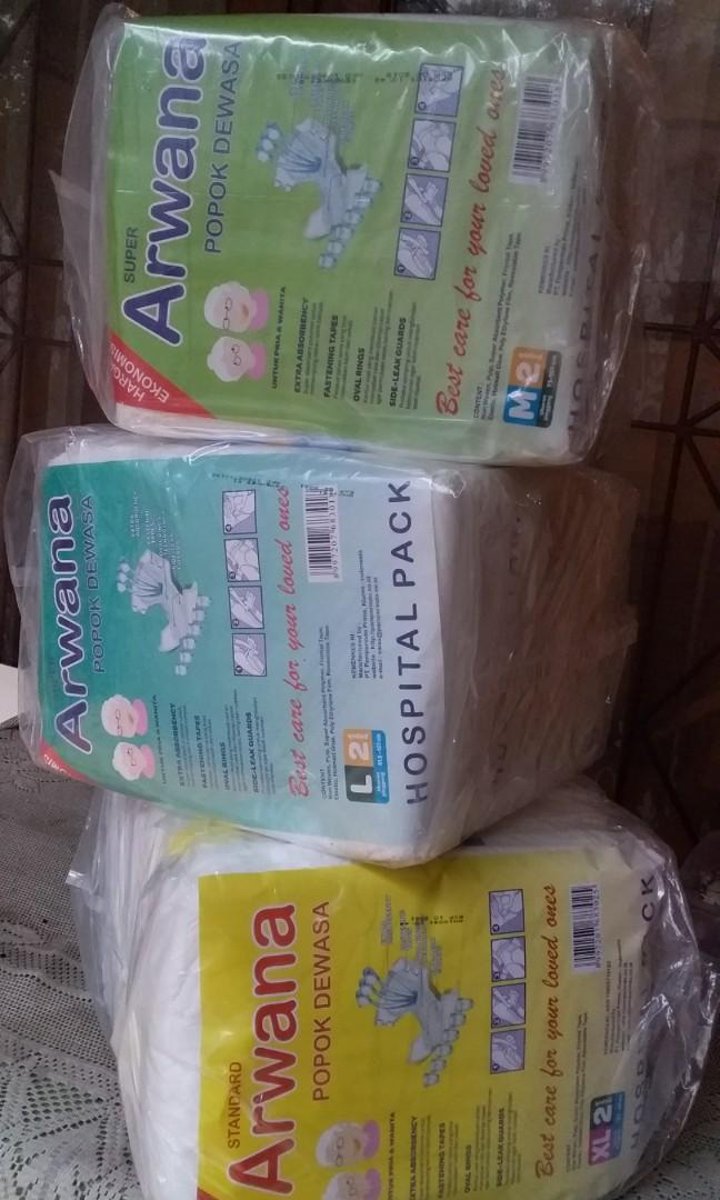59rb isi 12 Popok Dewasa/Pampers/Diapers