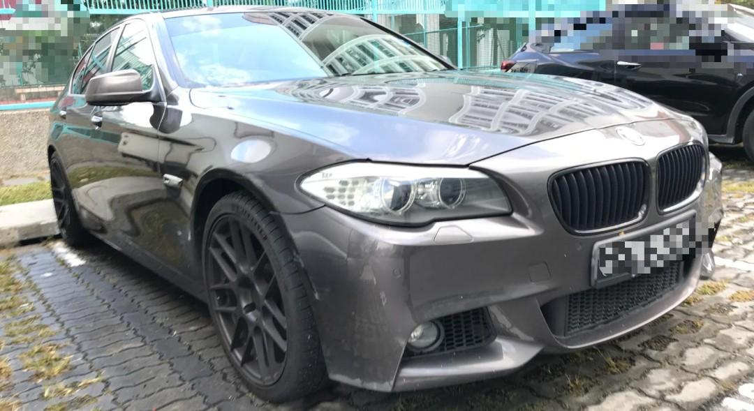 🇸🇬🚘🇸🇬🚘🇸🇬🚘🇸🇬🚘🇸🇬🚘🇸🇬🚘 2010 BMW F10 523  2.5L 6-cylinder Engine Brown colour M-Sport Bodykit 20inch Sports Rim Mileage 170,000Km  *RM 25 000__* COLLECT JB KERETA/MOTOR SINGAPORE UNTUK SPARE PART wasap.my/60126373536  p