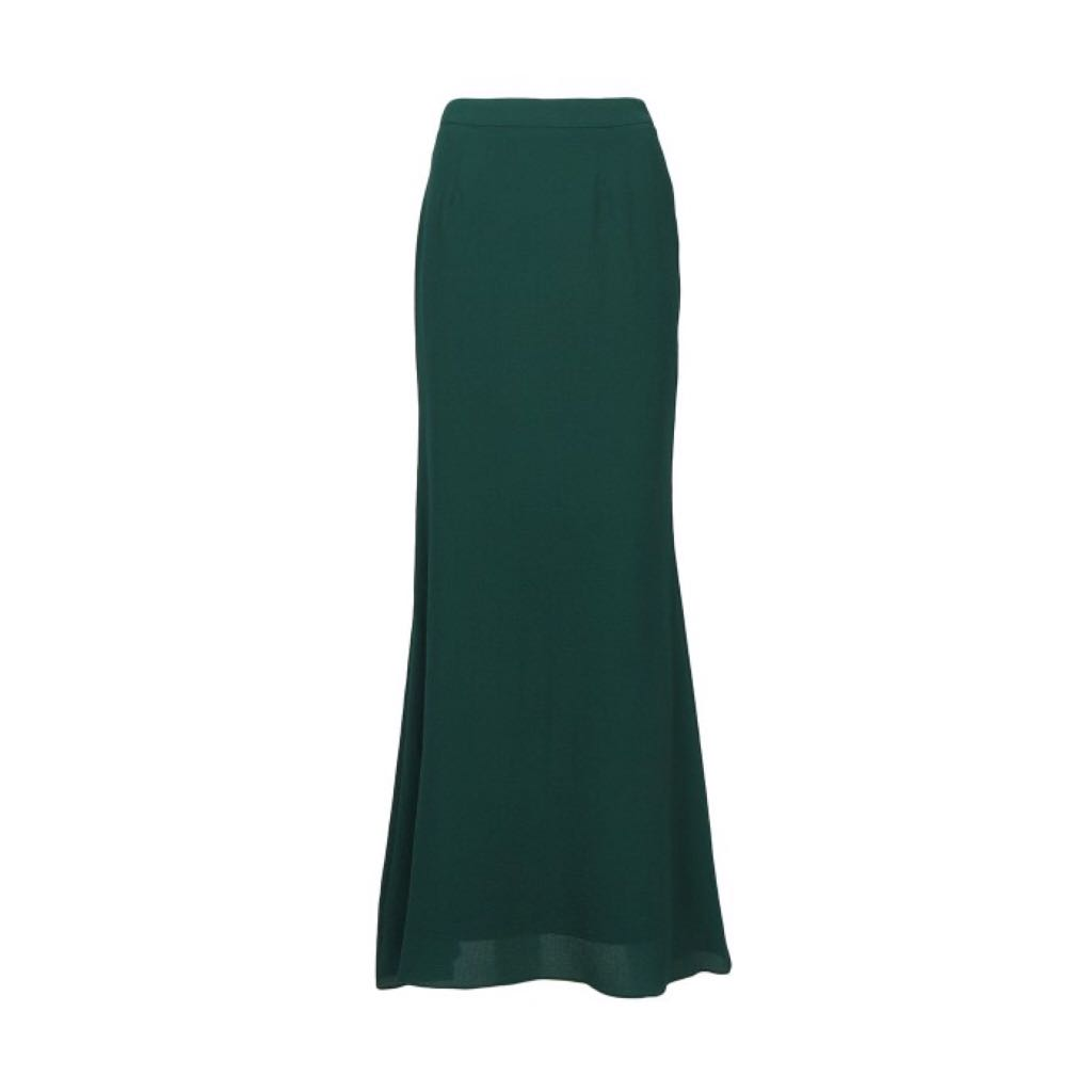 bce397cdcc9b ☁ dark green flavie maxi skirt, Women's Fashion, Clothes, Dresses ...