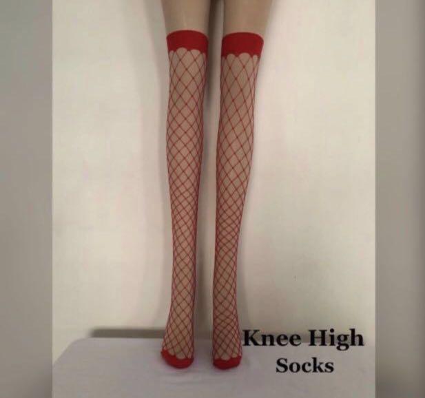 1f5dd8e6dbc ZHOELUX   Fishnet Stocking Knee High Fishnet Stocking Thigh High ...
