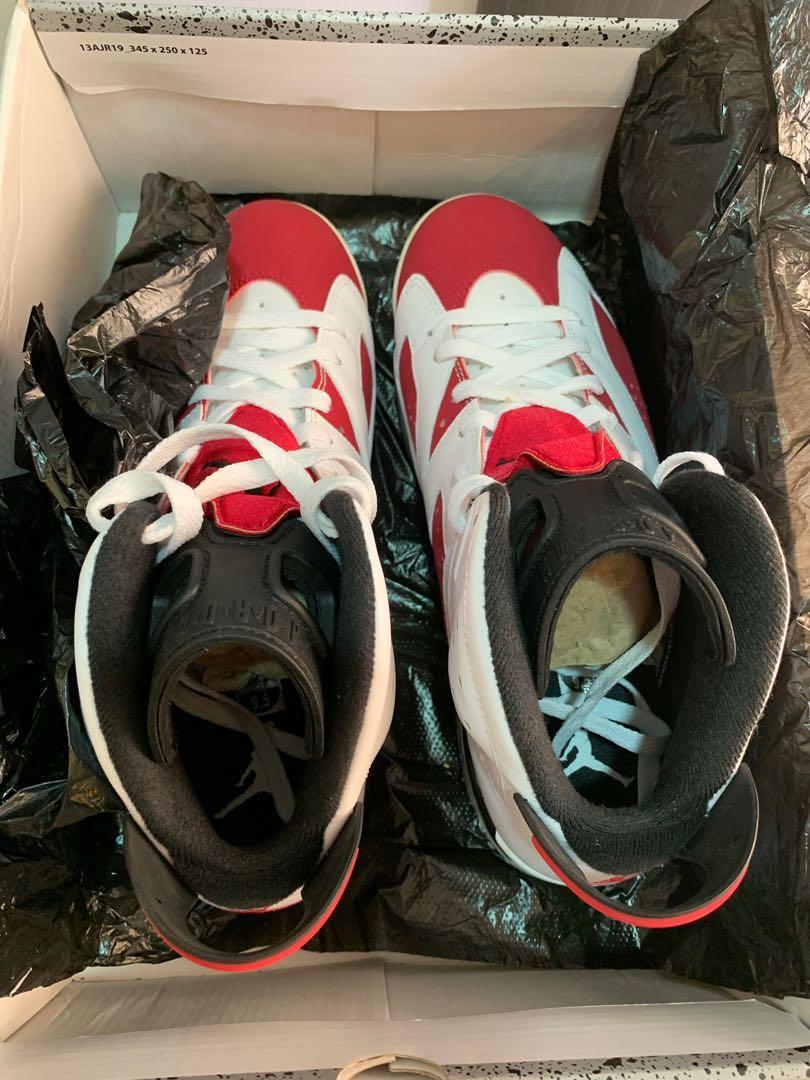 c80c7e02a34 Air Jordan 6 Retro Carmine, Men's Fashion, Footwear, Sneakers on ...