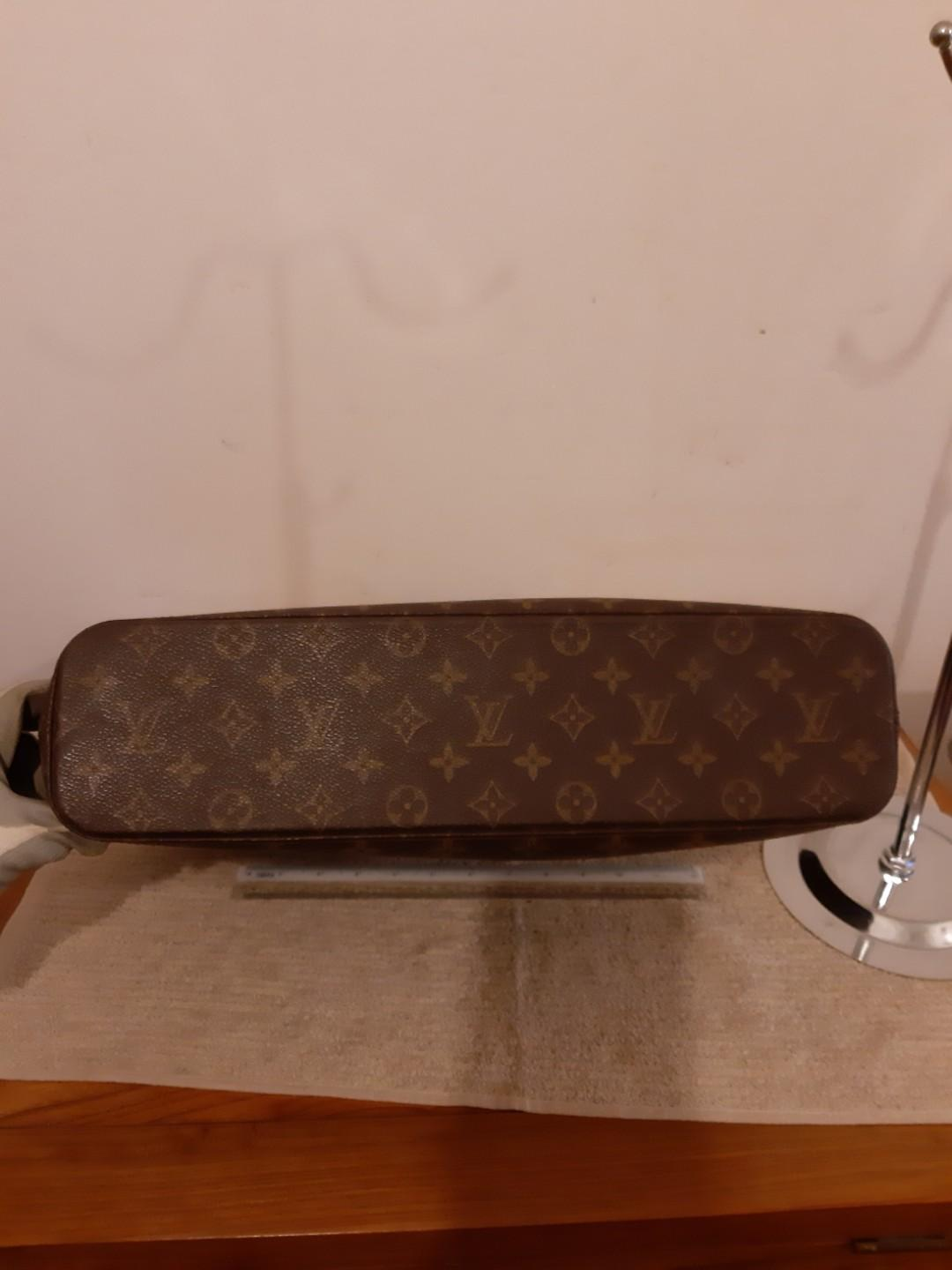 AUTHENTIC LOUIS VUITTON LUCO - LV MONOGRAM LOGO CANVAS - LARGE SHOULDER BAG - OVERALL GOOD ! - (BOUGHT AROUND RM 5500+) - RM 998 ONLY