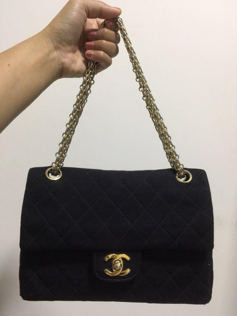 Authentic Vintage Chanel 2.55 in Nylon Bag ac7b4976f429e