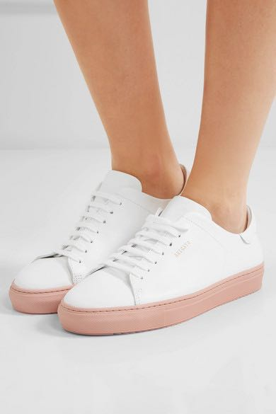 01147ea8e39ff Axel Arigato Clean 90 Sneakers with Pink Rubber Sole EU40