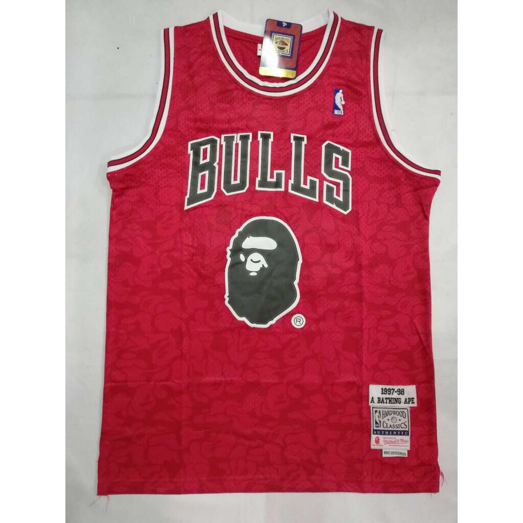 new style 30518 31637 BAPE #93 Limited Edition Swingman Jersey (Chicago Bulls)