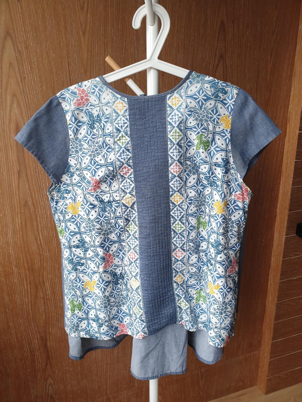 Batik Biru Nona Rara