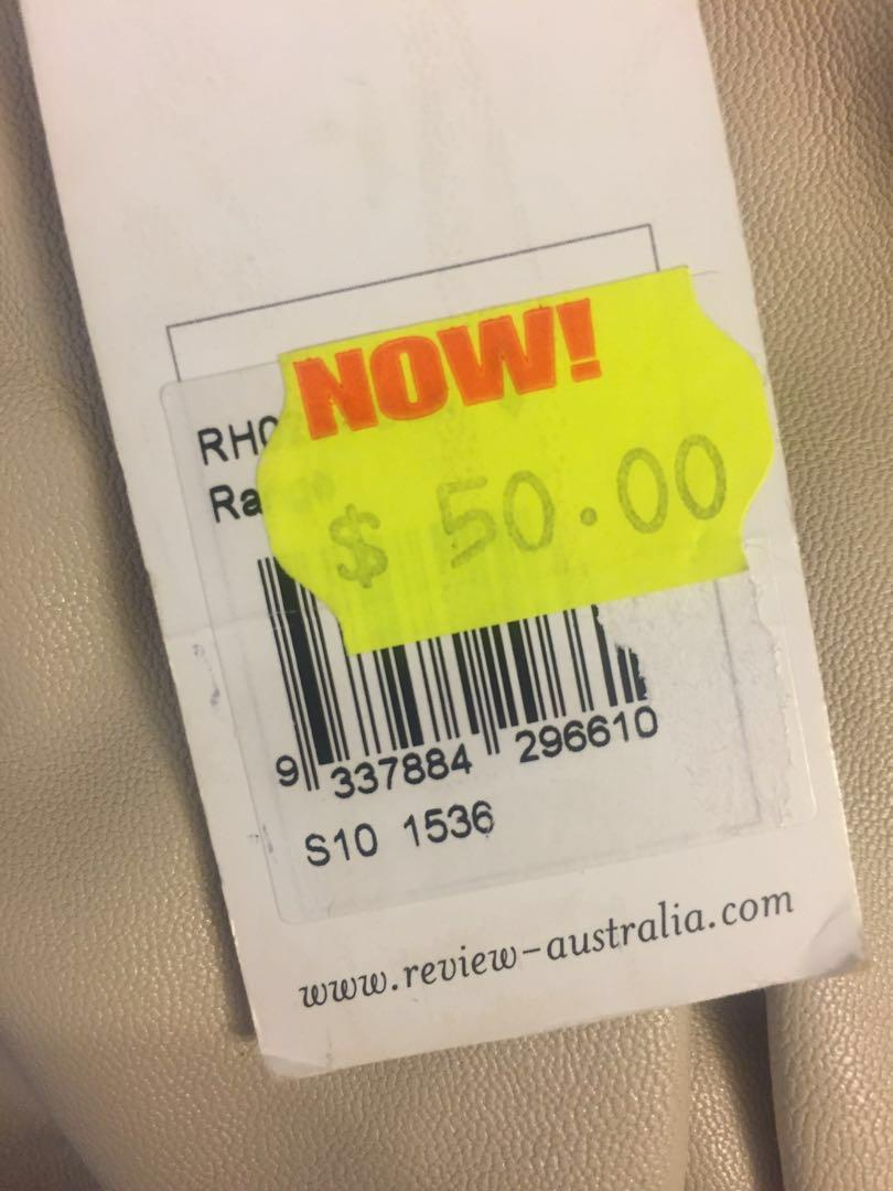 Brand new Review ivory/off white/cream handbag with tags