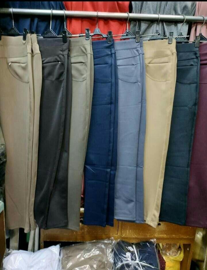 Celana Legging Saya Fesyen Wanita Pakaian Wanita Bawahan Di Carousell
