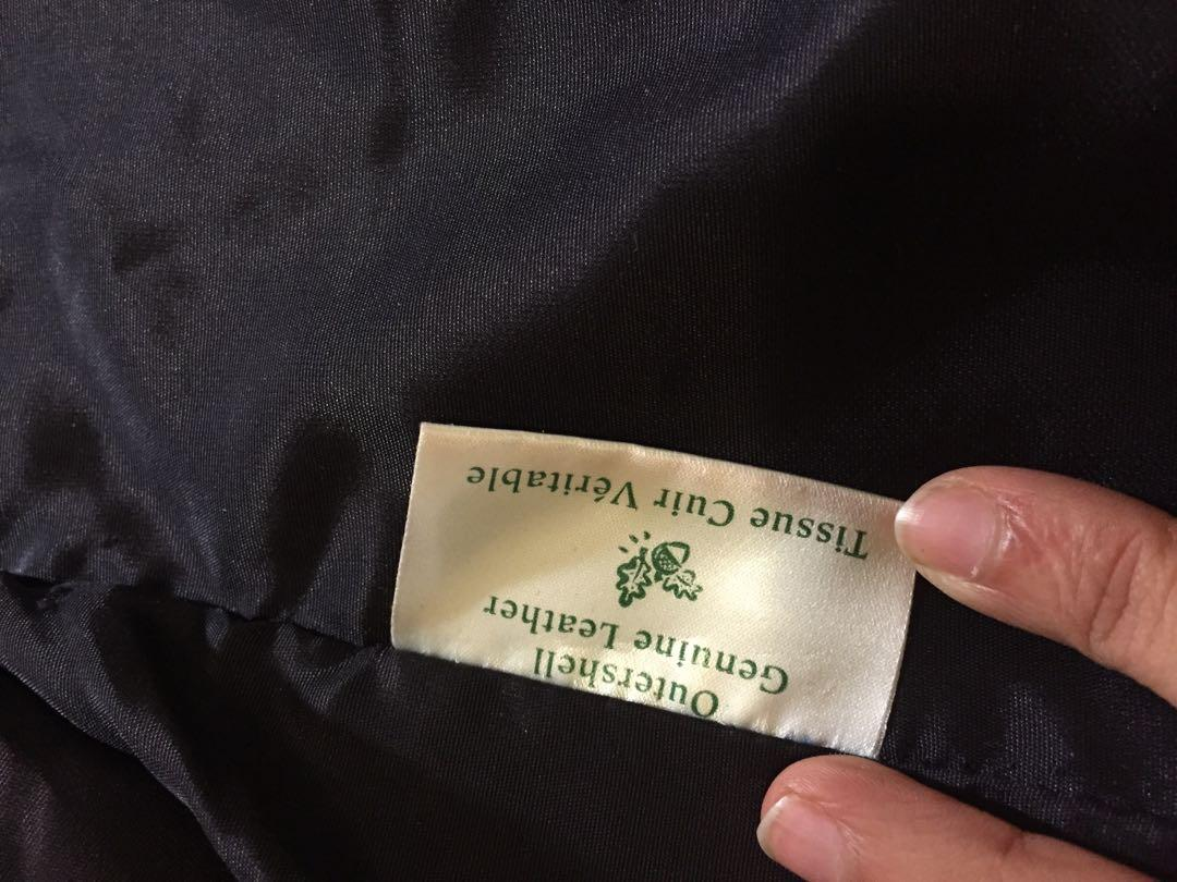 Danier leather vest