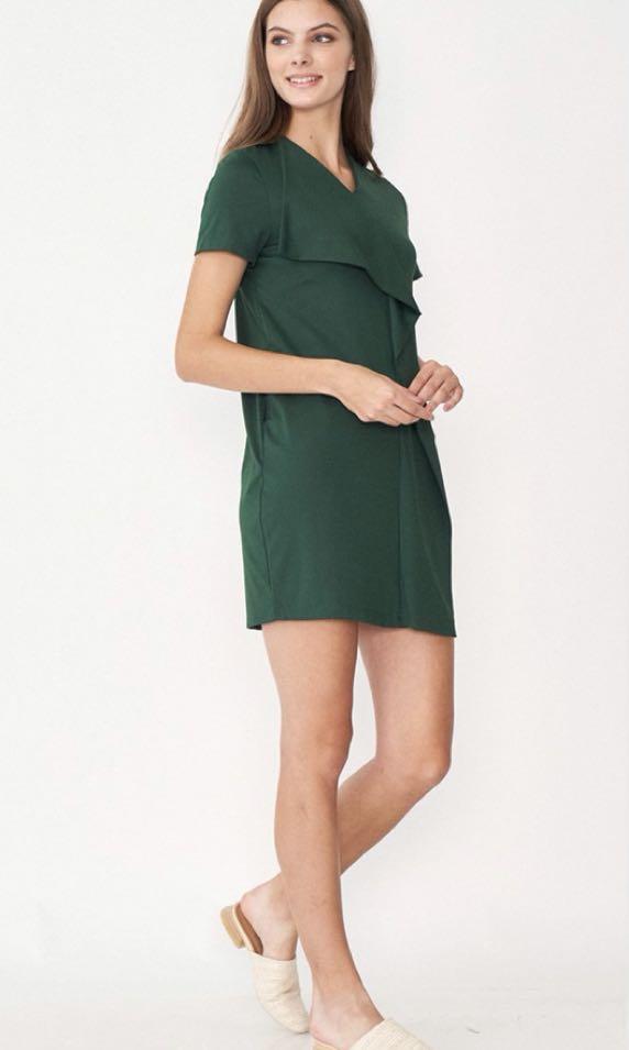176704b34 Dear Collective Rachel Drape Dress