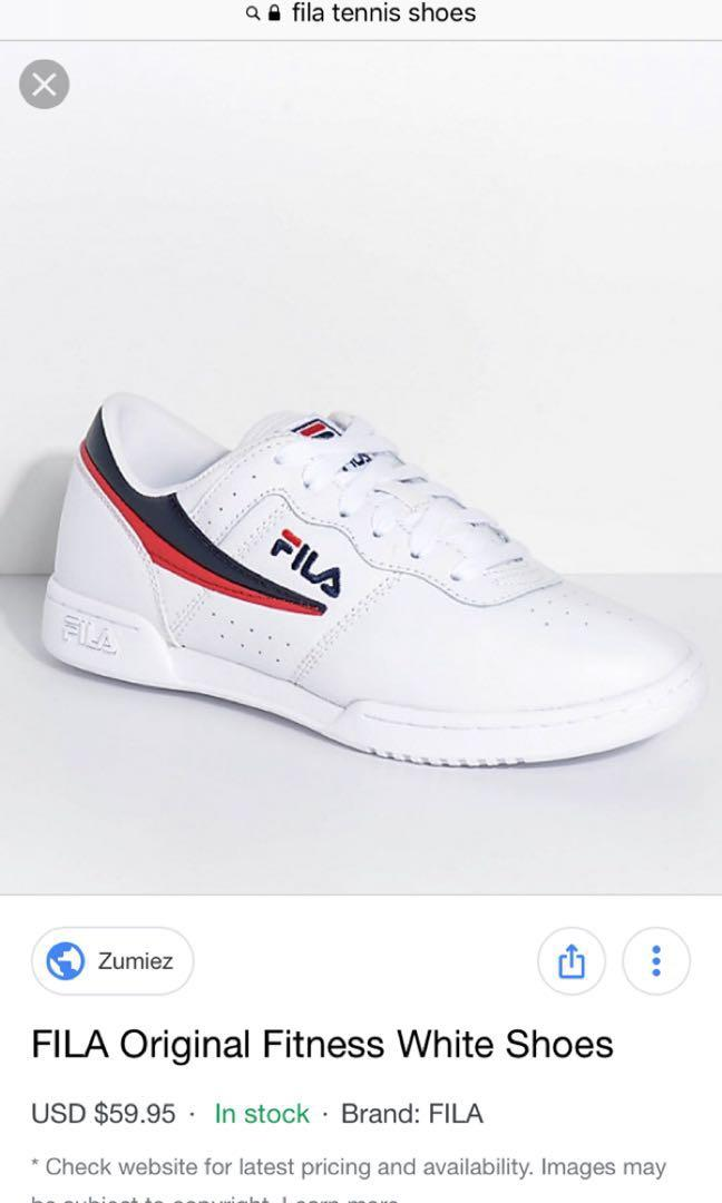 Fila ShoesWomen's On Tennis FashionSneakers Carousell ZiPkuX
