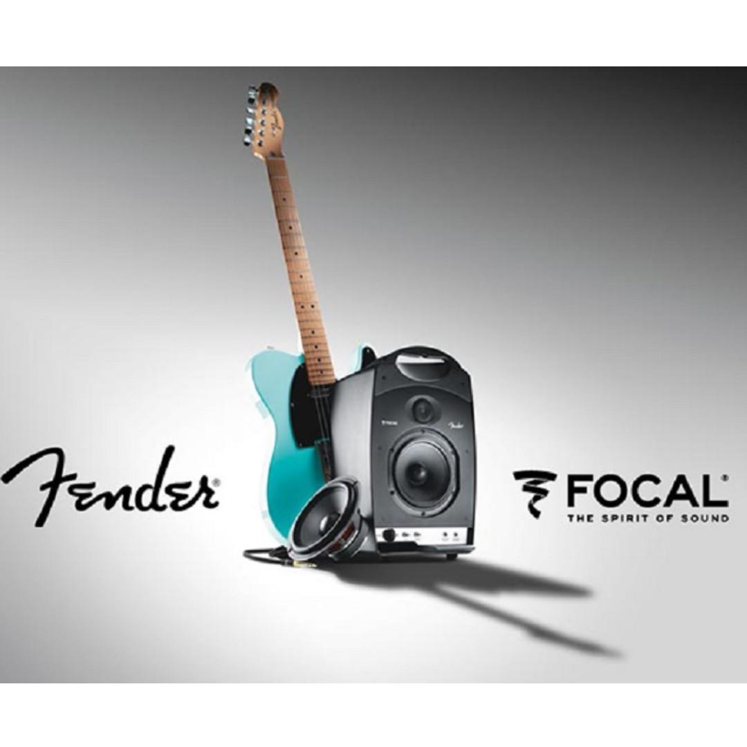 Focal x Fender Passport Studio 手提可移動主動式監聽喇叭 / 一對