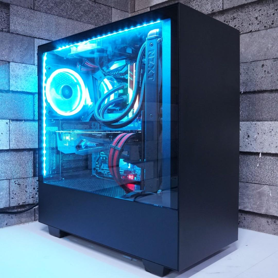 watch 51650 3921b Gaming PC by Ideal Tech SG, Electronics, Computers, Desktops ...