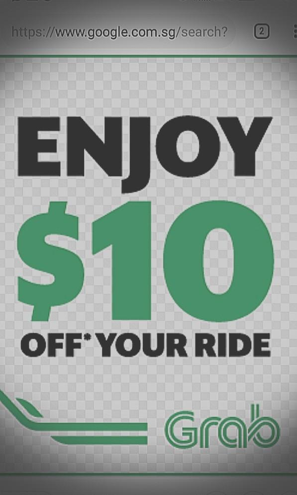 CLEARANCE!! Grab $10 voucher off 1 ride promo code