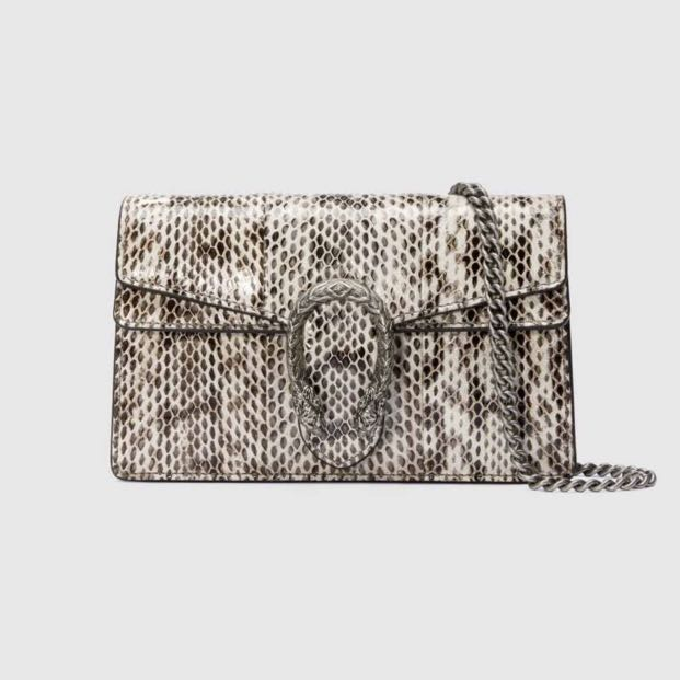 08bb7181dd2e Gucci Dionysus super mini Snakeskin bag, Luxury, Bags & Wallets ...