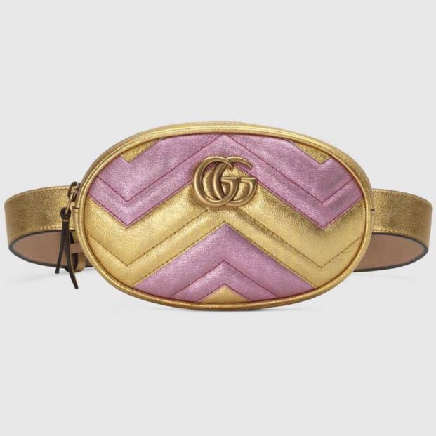a2889df8bc19b4 Gucci GG Marmont matelasse leather belt bag, Luxury, Bags & Wallets ...