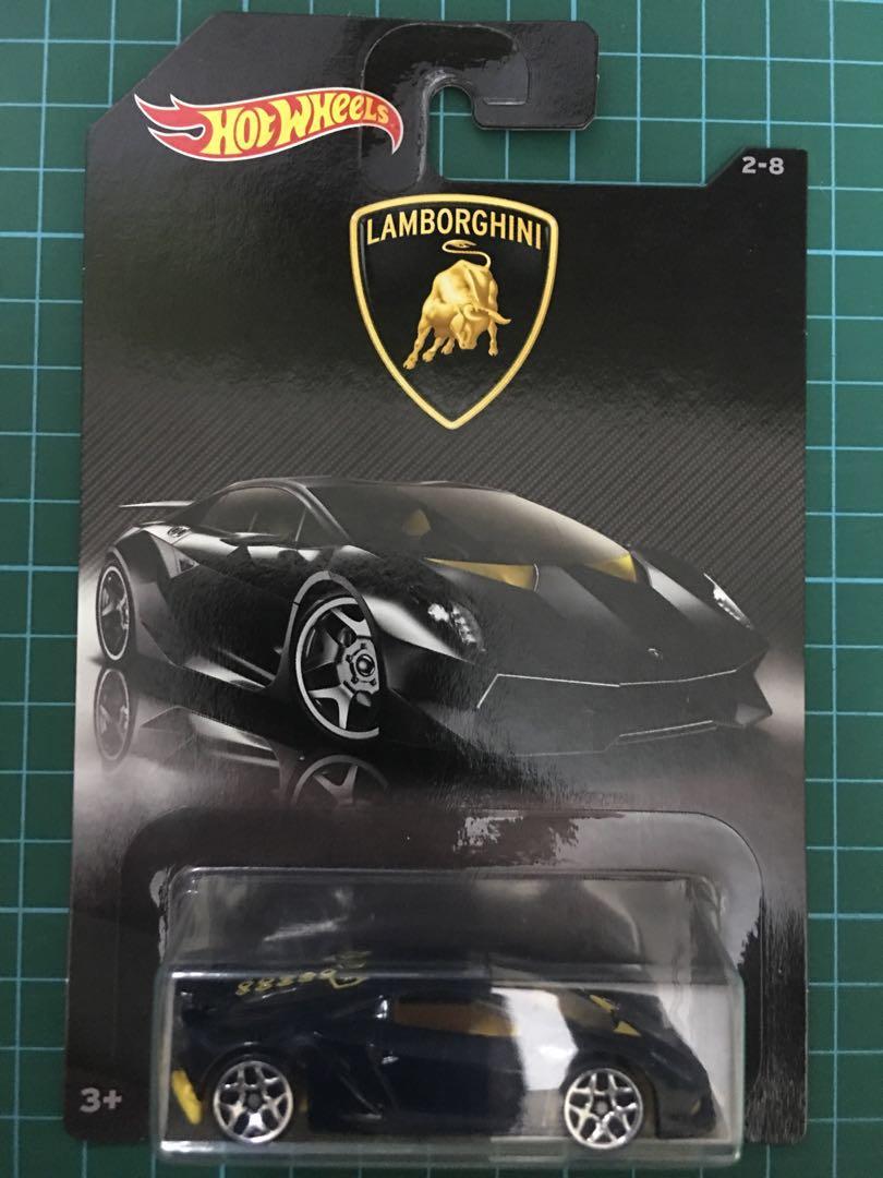 Hot Wheels Lamborghini Sesto Elemento Toys Games Bricks