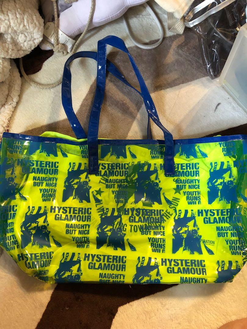hysteric glamour 沙灘袋
