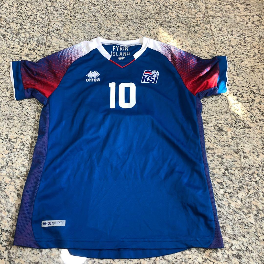 new concept a4cb5 924fe Iceland World Cup 2018 Home Jersey, Sports, Sports Apparel ...
