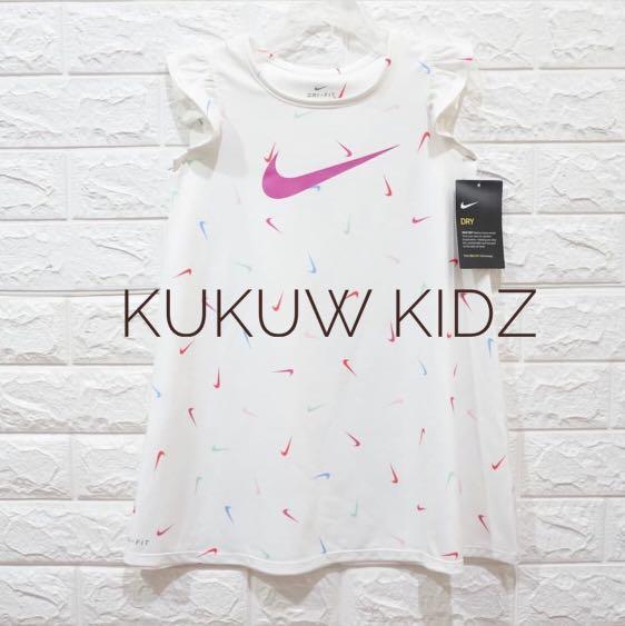 878a69ff 💥INSTOCK💥NIKE DRI-FIT DRESS (AUTHENTIC), Babies & Kids, Girls ...