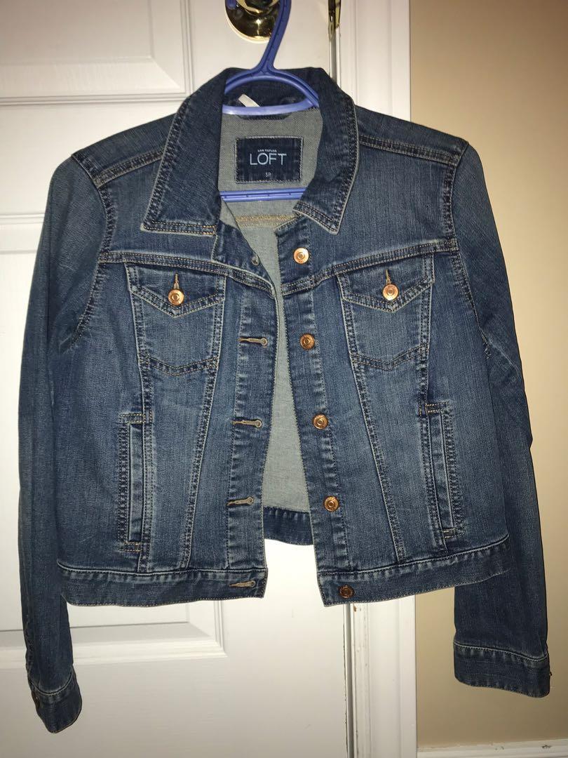 Jean jacket from loft