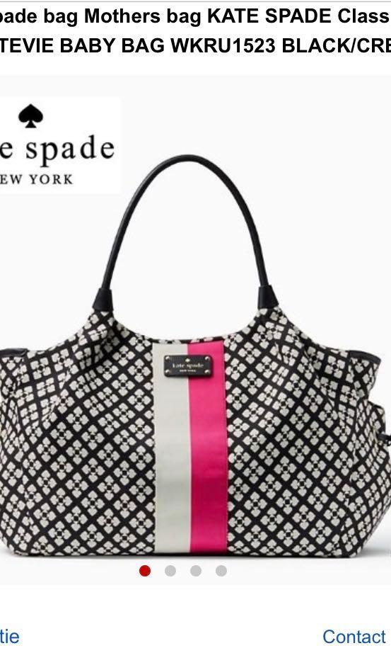41195a1453c4 Kate Spade stevie Diaper Bag, Women's Fashion, Bags & Wallets ...