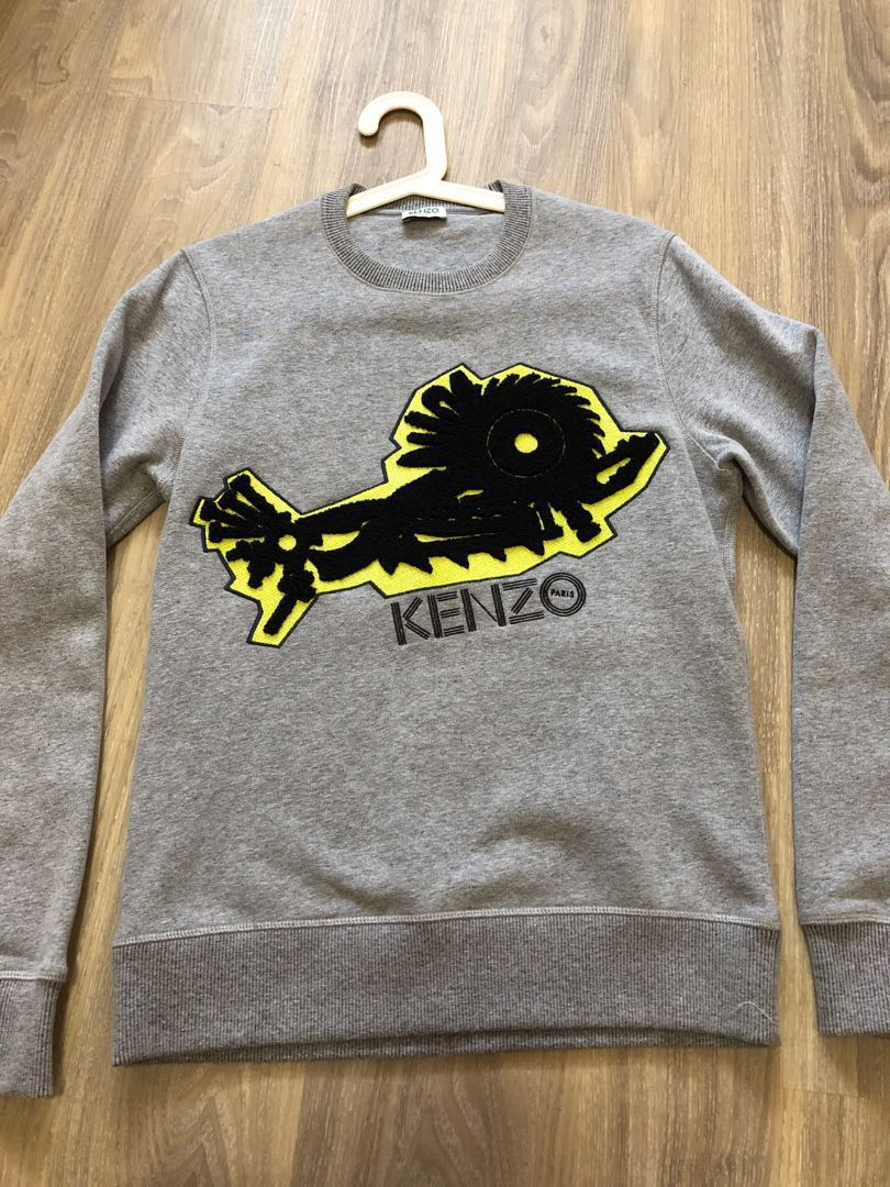 47c8358bff Kenzo Sweater Pullover, Men's Fashion, Clothes, Outerwear on Carousell
