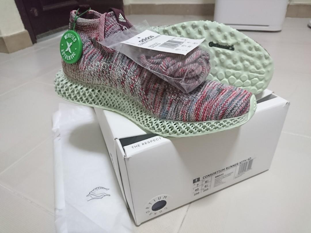 competitive price 7bb8c ad037 Kith x adidas Consortium Futurecraft 4D, Men's Fashion ...