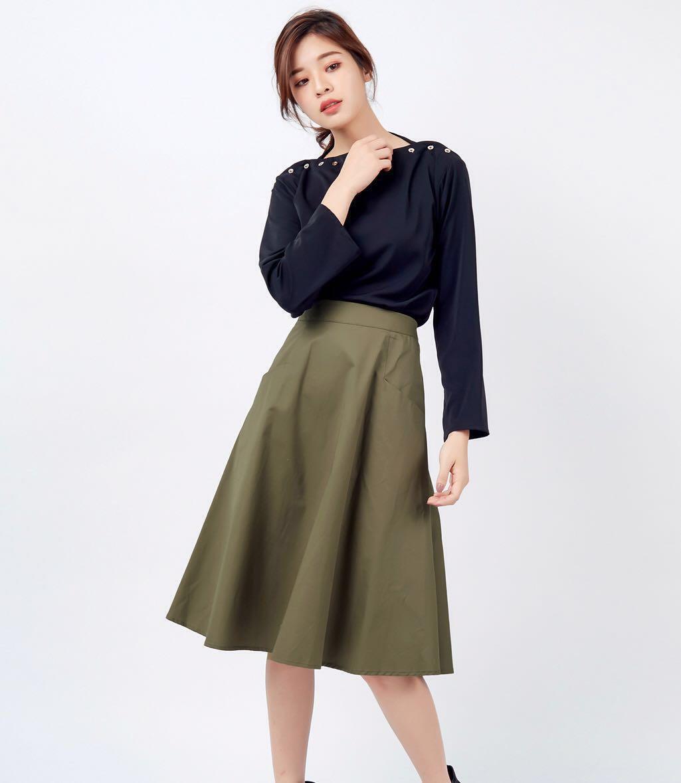 0e988aef23 Kodz structured Midi skirt, Women's Fashion, Clothes, Dresses ...