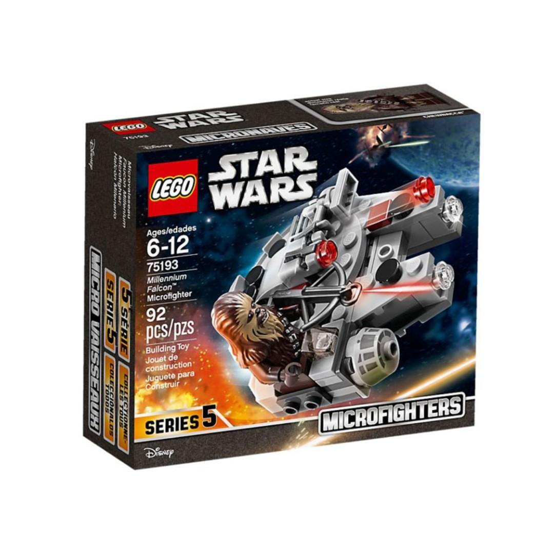 Lego 75193 - Millennium Falcon Microfighter Retired Set 2018