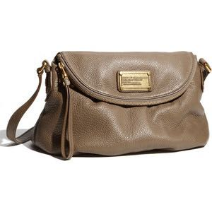 97648659db Marc By Marc Jacobs brownish grey classic Q Natasha crossbag flap ...