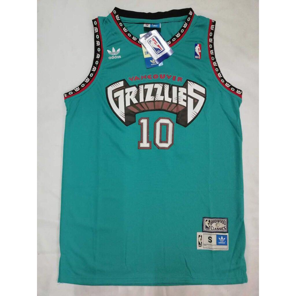 a7228ab9b346 Mike Bibby  10 Retro Edition Swingman Jersey (Vancouver Grizzlies) on  Carousell