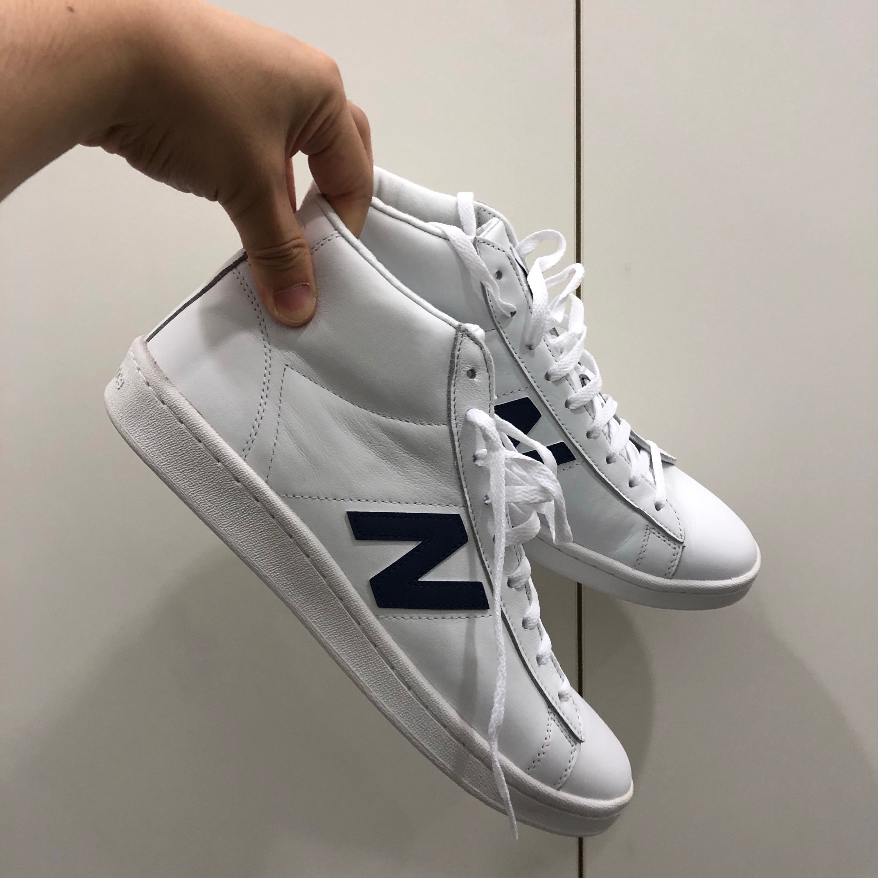 9f3794b97eb9 New Balance for J.Crew 891 Leather High-top Sneakers, Men's Fashion,  Footwear, Sneakers on Carousell