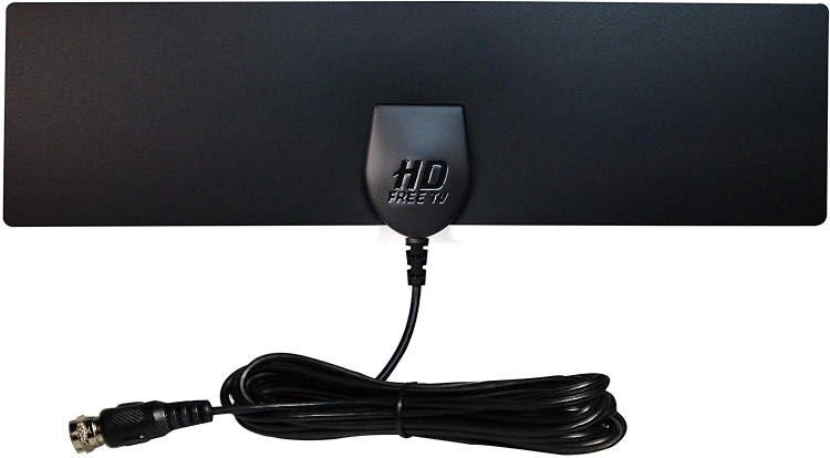 [Newest 2018] HD Free TV Antenna for Over Air Digital HDTV Amplified Indoor  Outdoor, Long Range Antennas – Broadcast Smart Television in 1080p High