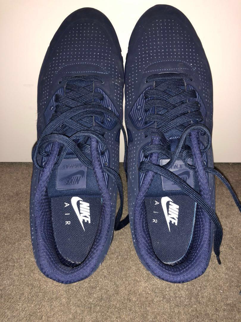 Nike AirMax Moire triple blue