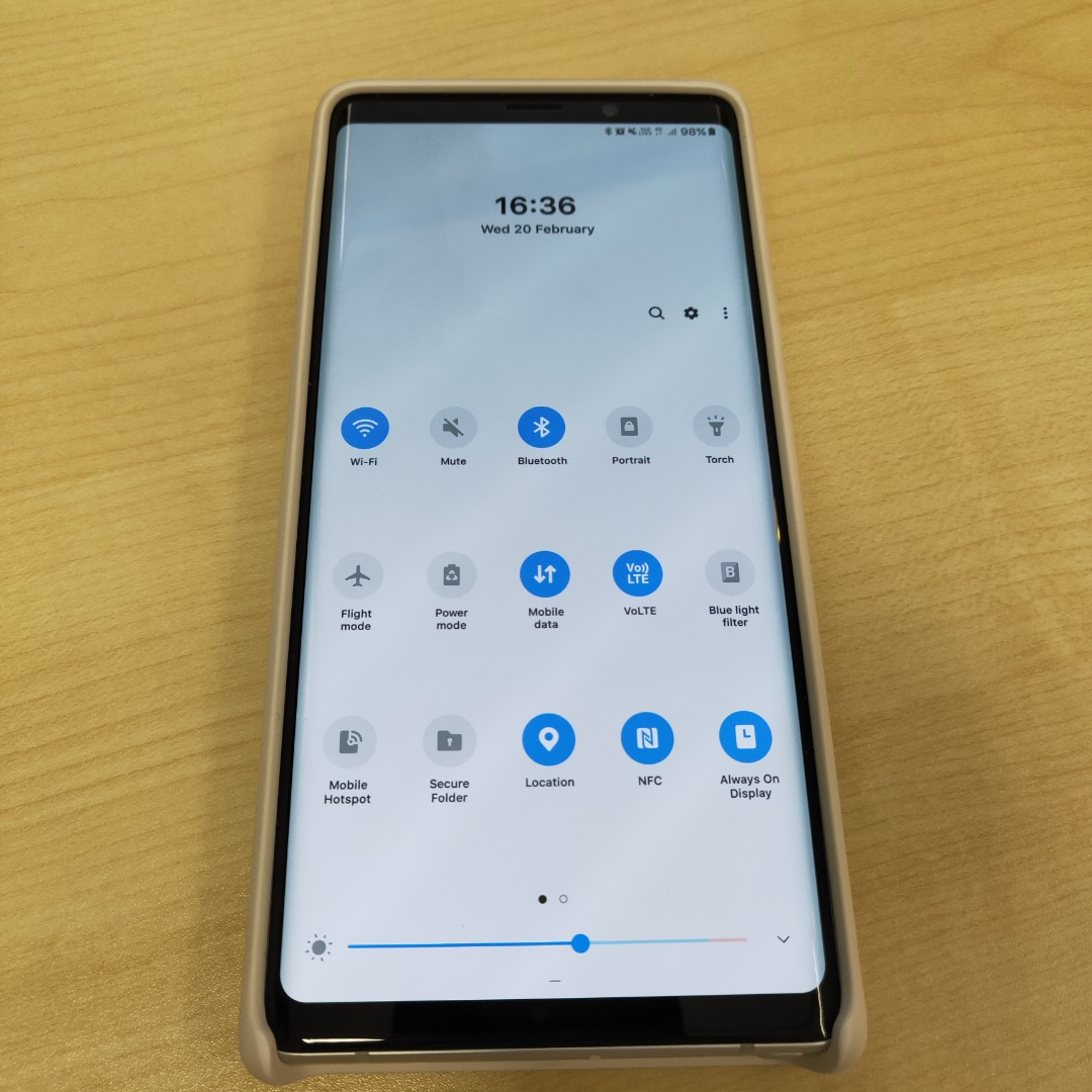 NOTE 9 w/ ONE UI ALPINE WHITE, Mobile Phones & Tablets