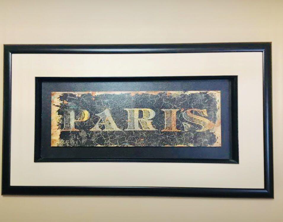 Paris & London Wall Art