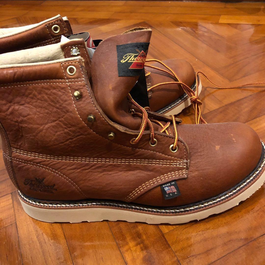 Plain Toe Thorogood boots, Men's